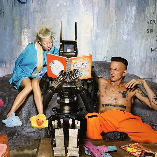 Chappie with Die Antwoord