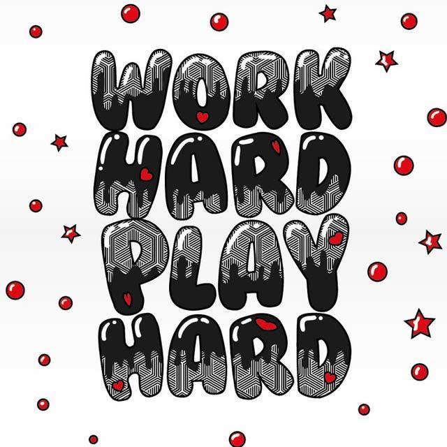 よく働き よく遊べ