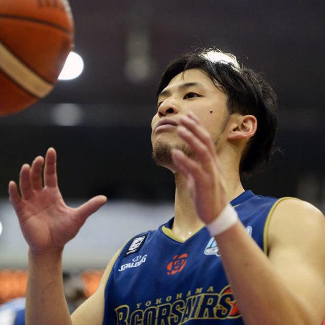 プロバスケットボール Bリーグ B.LEAGUE YOKOHAMA B-CORSAIRS #0 MASASHI HOSOYA
