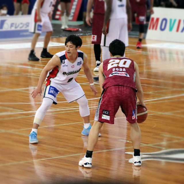 Bリーグ Yokohama B-Corsairs #0 Masashi Hosoya