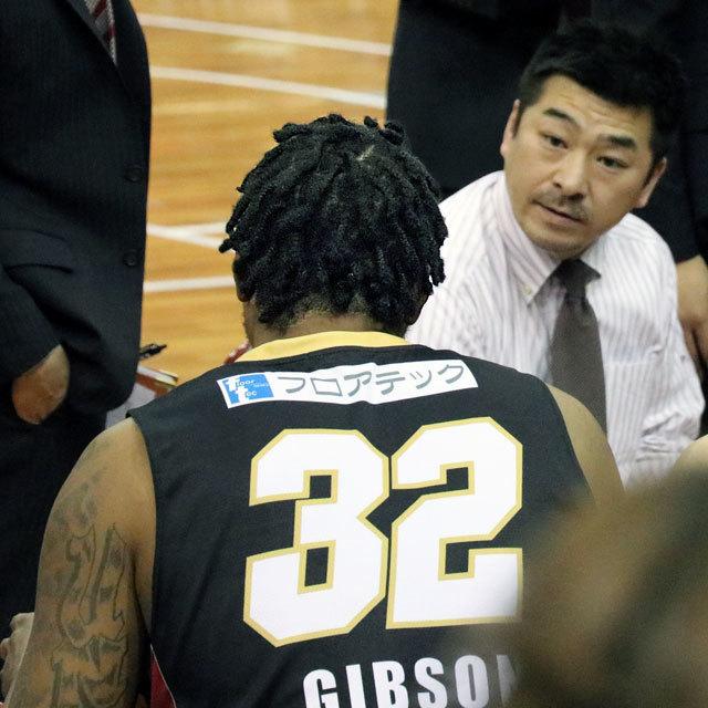 B.League Osaka Evessa #32 Xavier Gibson