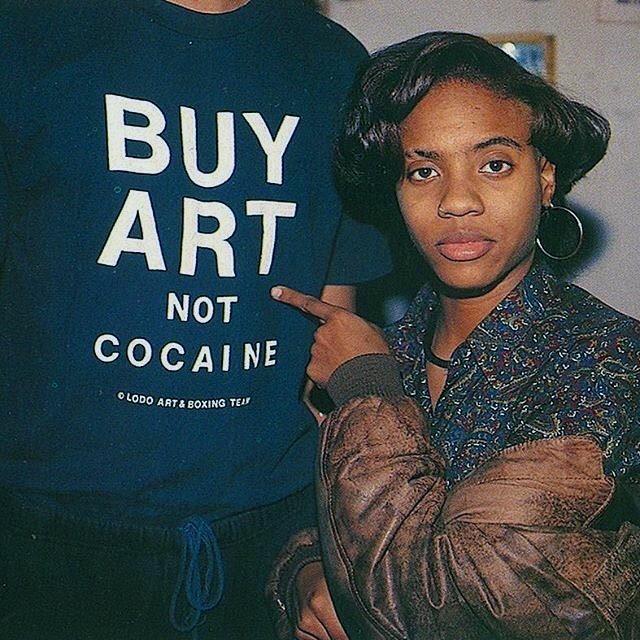 BUY ART NOT COCAINE