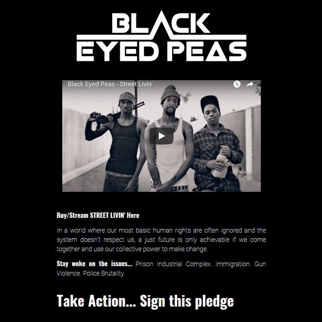 Street Livin' Black Eyed Peas SOCXS