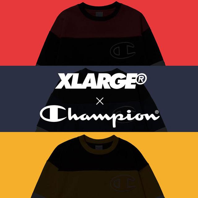 XLARGE®×Champion