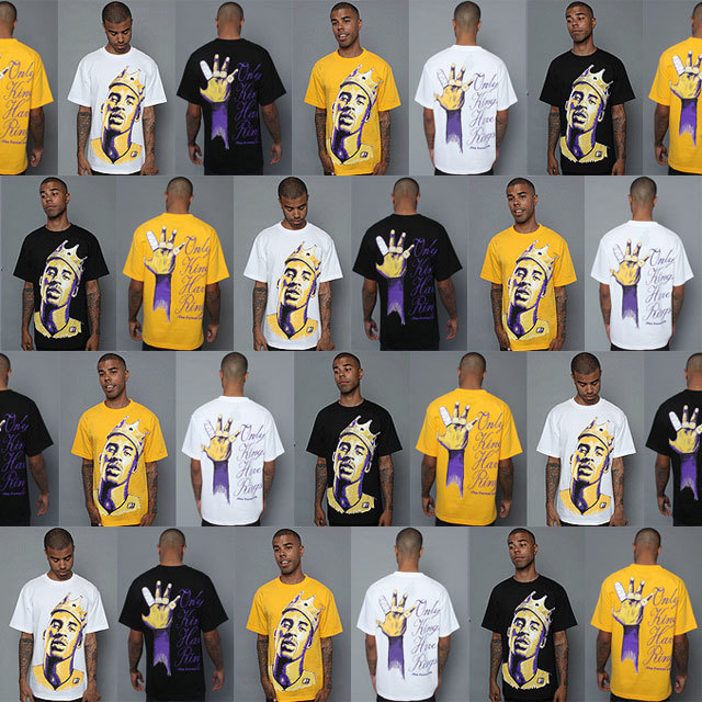 KOBE BRYANT Only Kings Have Rings T-shirt - Cafe de Zion online shop by Team Zion