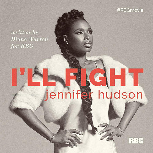 I'll Fight - Jennifer Hudson | Music & Lyrics by Diane Warren (From the Motion Picture 'RBG')