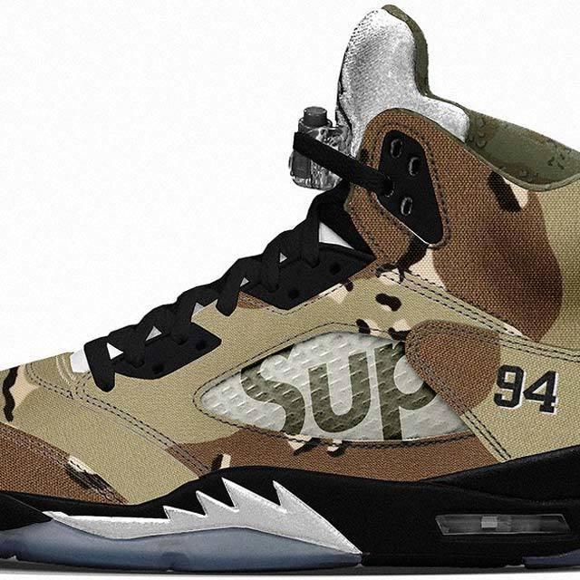Supreme x Nike AJV(AJ5) Desert Storm
