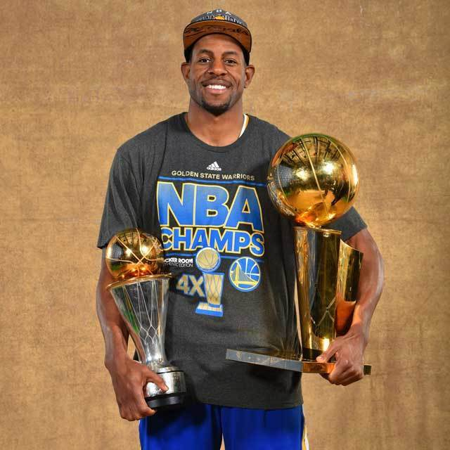 NBA Clutch Time Trophy Tour in Japan Andre Iguodala Golden State Warriors