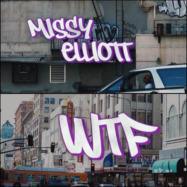 ミッシー・エリオット ファレル・ウィリアムス #WTFMISSY
