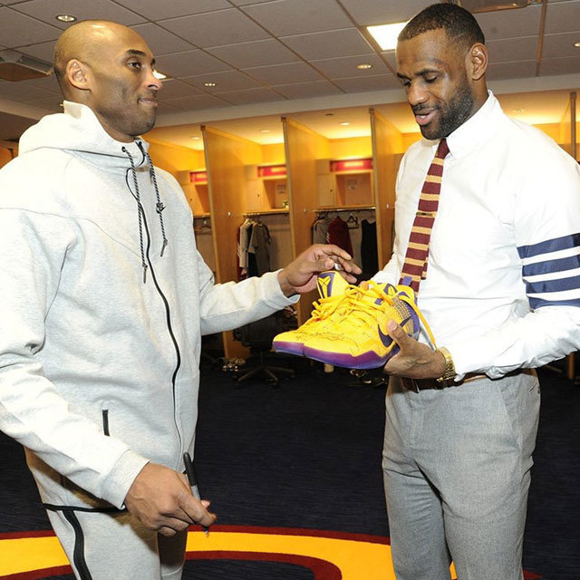 LeBron James Kobe Bryant Nike Basketball @nikebasketball
