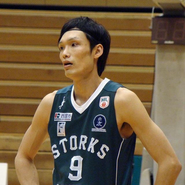PRO BASKETBALL TEAM NISHINOMIYA STORKS 9 谷直樹