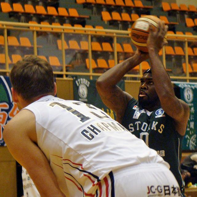 PRO BASKETBALL TEAM NISHINOMIYA STORKS 0 Dillion R Sneed #0 ディリオン・スニード
