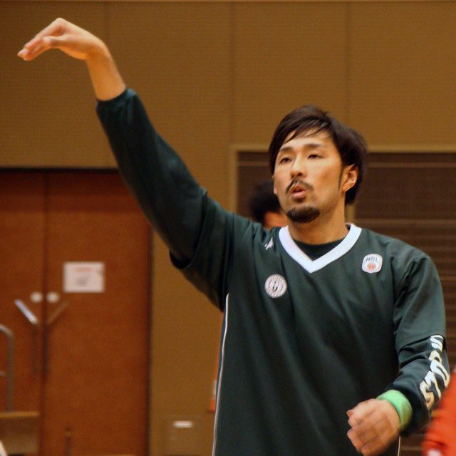 Pro Basketball Team NBL Nishinomiya STORKS #15 Shinnosuke Negoro 根来新之助