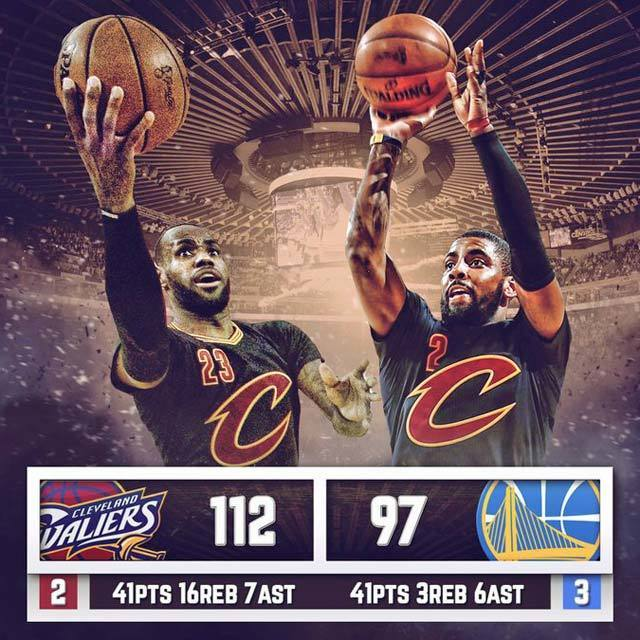 2016 NBA Finals Game5 Golden State Warriors vs Cleveland Cavaliers