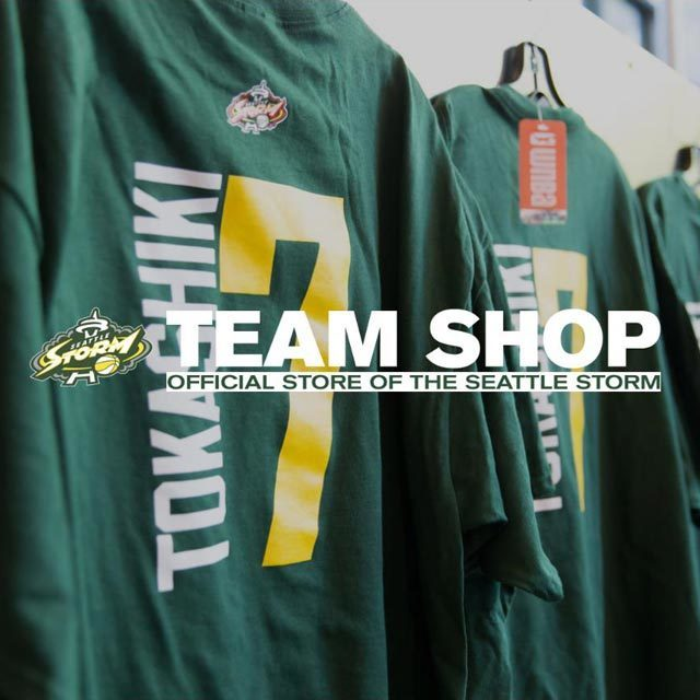 Seattle Storm Team Shop #7 RAMU TOKASHIKI 渡嘉敷来夢