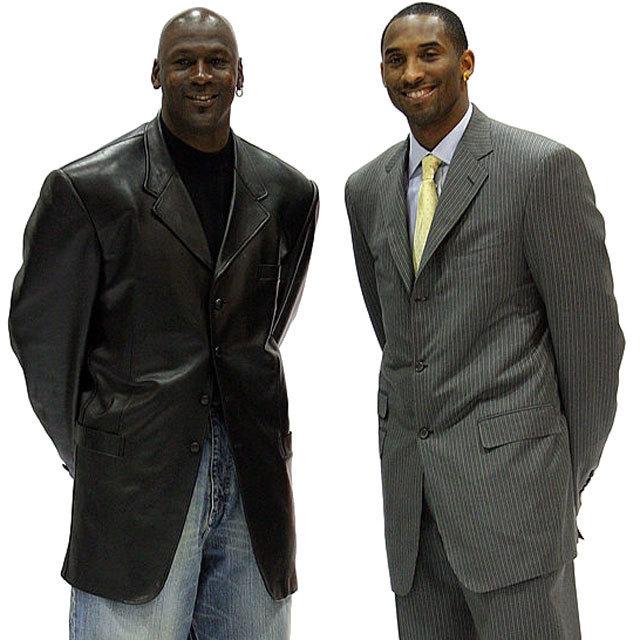NBA Chicago Bulls #23 Michael Jordan Los Angeles Lakers #24 Kobe Bryant