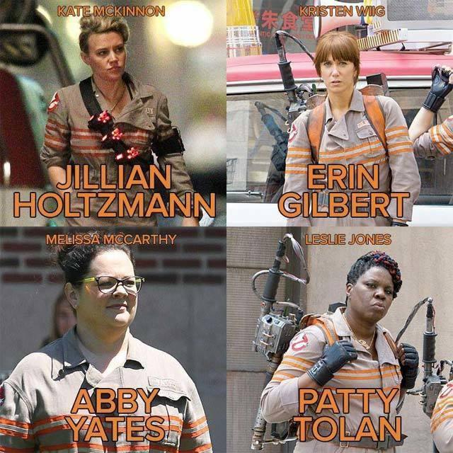 映画『ゴーストバスターズ』2016 クリステン・ウィグ メリッサ・マッカーシー ケイト・マッキノン レスリー・ジョーンズ クリス・ヘムズワース