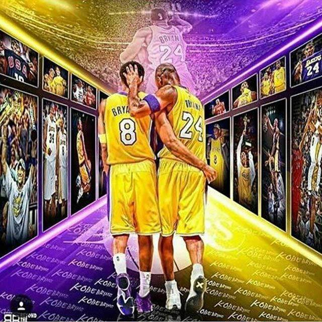 NBA Los Angeles Lakers コービー・ブライアント T-shirt