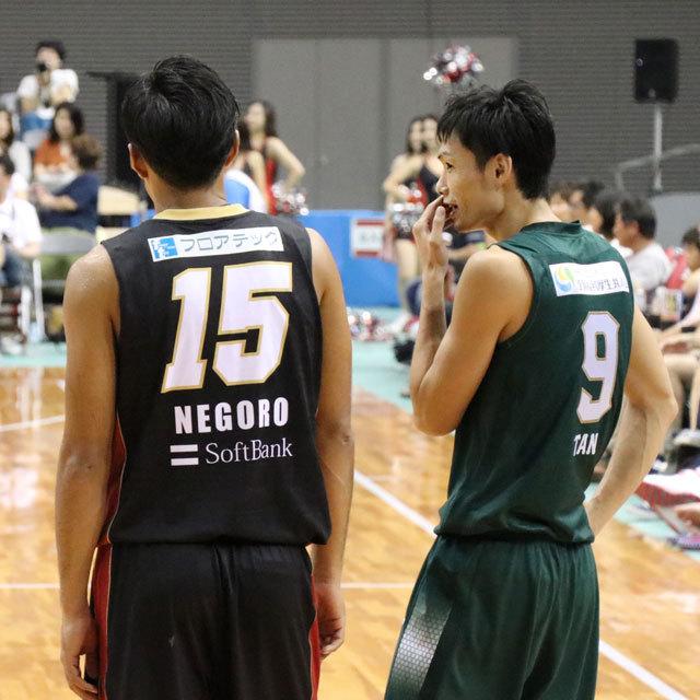 関西バスケットボールCUP @府民共済SUPERアリーナ(舞洲アリーナ) 谷直樹 根来新之助