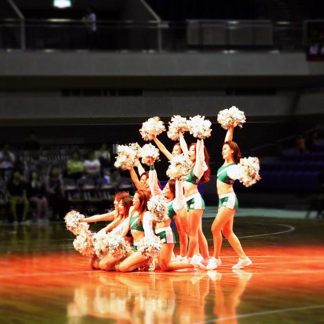 B.Leauge Nishinomiya Storks Cheers Cheerleaders
