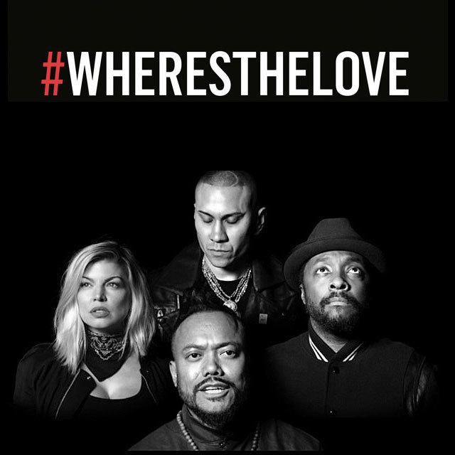 """5年の時を経て、ブラック・アイド・ピーズが危機に瀕した数々のコミュニティを救うため、2003年のナンバーワン・ヒット「ホエア・イズ・ラヴ?/Where Is The Love?」を""""#WHERESTHELOVE""""に変えて、再集結した。 ブラック・アイド・ピーズ・フィーチャリング・ザ・ワールド名義の""""#WHERESTHELOVE""""は、アメリカ国内での購入で得られた全収益が、アイ・アム・エンジェル・ファンデーションに寄付される。この非営利慈善団体は教育や刺激、機会によって生活を変えていくことを目的とした団体で、ブラック・アイド・ピーズのフロントマン、ウィル・アイ・アムによって設立されたもの。 ブラック・アイド・ピーズ・フィーチャリング・ザ・ワールドの「ザ・ワールド」には、ウィル・アイ・アム、アップル・デ・アップ、タブー、ファーギーの「ホエア・イズ・ラヴ?」に加えて、ジェイミー・フォックス、タイ・ダラー・サイン、メアリー・J・ブライジ、ディディ、キャシー、アンドラ・デイ、ザ・ゲーム、トリー・ケリー、V・ボーズマン、ジェシー・J、フレンチ・モンタナ、ジャスティン・ティンバーレイク、DJキャレド、アッシャー、ニコール・シャージンガー、エイサップ・ロッキー、ジェイデン・スミスといった錚々たる才能のパフォーマーが名を連ねており、40人の子供合唱団も参加している。ブラック・アイド・ピーズの呼びかけに対するアクションとして結実した壮大な""""#WHERESTHELOVE""""のビデオには、(登場順)ダラス警察署長デヴィッド・O・ブラウン、サンドラ・スターリング(警察官に射殺されたアルトン・スターリングを育てた彼のおば)、トニー・ムハンマド牧師、オリヴィア・マン、テイ・ディグス、ケンダル・ジェンナー、シェイリーン・ウッドリー、ニッキー・リード、リンゼイ・ボン、ギレルモ・ディアス、ロザリオ・ドーソン、カーラ・グギーノ、ウィルマー・バルデラマ、スヌープ・ドッグ、エリカ・クリステンセン、ヴァネッサ・ハジェンズ、コニー・ブリットン、ポーラ・パットン、ヴァレリー・キャスティル(警察官に射殺されたフィランド・キャスティルの母親)、ドン・ウォズニアッキ神父、ポーリー・ペレット、クインシー・ジョーンズ、ランス・バス、ボブ・ウー将校、トミー・デヴィッドソン、レイラ・ハサウェイ、ロバート・ウィルソン、カントールのエスター・シュウォルツ、ランディ・ジャクソン、カリーム・アブドゥル・ジャバー、警官のミゲル・サルセド、ビッグ・ボーイ、シスター・ローズ・パカーテ、ジョエル・マッデン、セン・ドッグ、ブライアン・グリーンバーグ、ウィズ・カリファ、エイドリアンヌ・パリッキ、警官のエイブ・カペイダ、LL・クール・J、ベラミー・ヤング、ノーマン・リアが、世界中のたくさんの人々と共に登場する。 13年が経ち、ブラック・アイド・ピーズは私たちに思い出させる。「同じ人種の人々にしか愛情を持たないなら/差別するしかなくなってしまう/そして差別は憎悪しか生まない」――そして、私たちに""""#WHERESTHELOVE(愛はどこだ)""""と追求し続ける勇気を与えてくれるのだ。 #WHERESTHELOVE""""はウィル・アイ・アム、アラン・ピネダ、ジェイミー・ゴメス、ジャスティン・ティンバーレイク、ジェイソン・テイラー、ラキム・メイヤーズ、キャレド(DJキャレド)・キャレド、ジョルジオ・トゥインフォートにより制作され、ウィル・アイ・アム、ジョルジオ・トゥインフォートがプロデュースをしている。ミュージック・ビデオはマイケル・ジョコヴァッチが監督している。"""