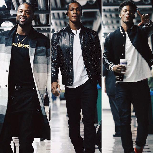 NBA Chicago Bulls Dwyne Wade Rajon Rondo Jimmy Butler