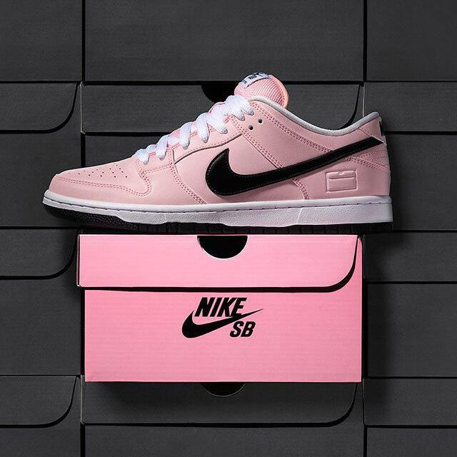 ナイキ ダンク LOW SB エリート Pink Box