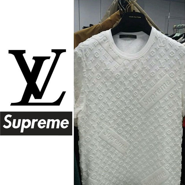 It started with an Instagram post from Kim Jones, the Artistic Director for Louis Vuitton. The image (which was subsequently taken down) depicted a Supreme sticker atop the luxury house's famed monogram print. The streetwear brand's acolytes will recall that Supreme received a cease and desist from LV in the early 2000s, and in an unexpected twist, it now appears that the two former legal combatants are embarking on an official joint venture. Rumored images of the collaboration have since leaked online, and word on the street is that the official project will launch for Fall/Winter 2017. Stay tuned.