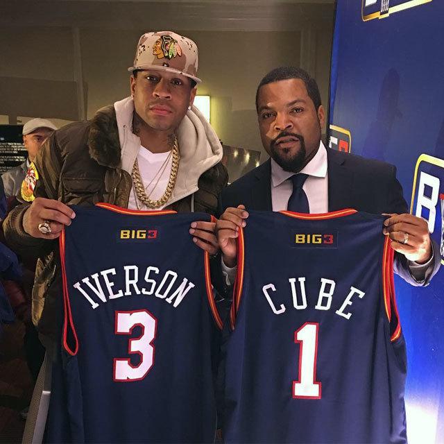 BIG3 Founder Ice Cube アイス・キューブ