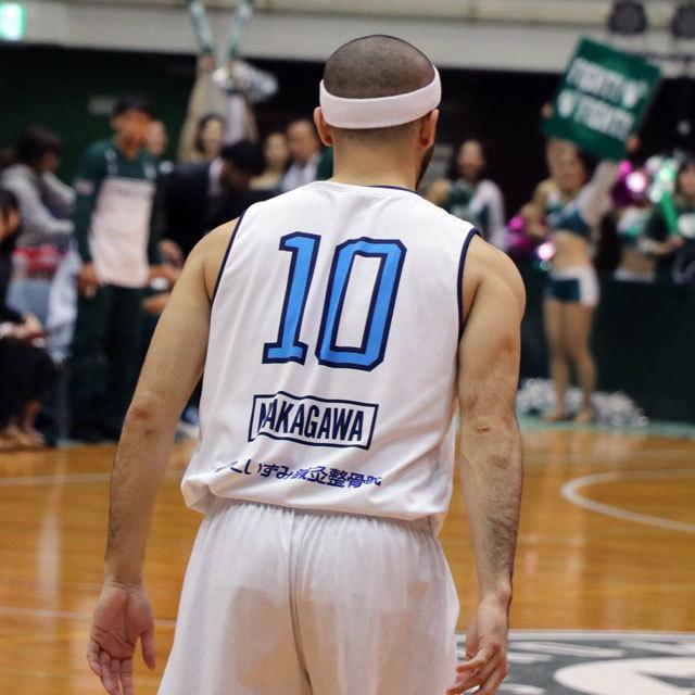B.LEAGUE NISHINOMIYA STORKS EARTHFRIENDS TOKYO Z 中川和之