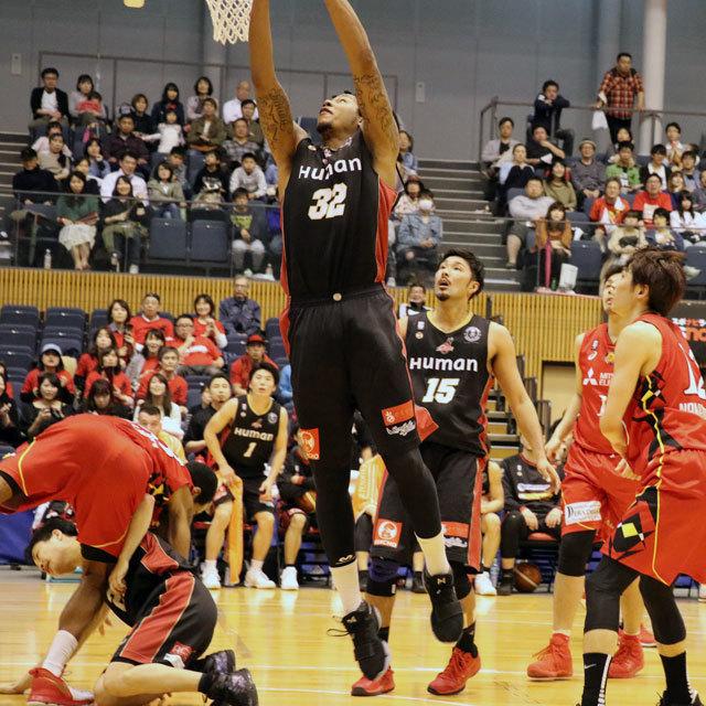 2017.4.15 名古屋ダイヤモンドドルフィンズ vs 大阪エヴェッサ @パークアリーナ小牧