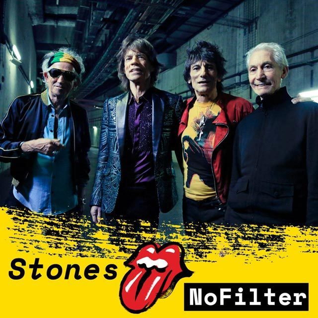 The Rolling Stones will play thirteen shows in twelve different venues, across Europe, in September and October. STONES - NO FILTER sees Mick, Keith, Charlie and Ronnie, back where they belong, out on the road, playing to packed stadiums.