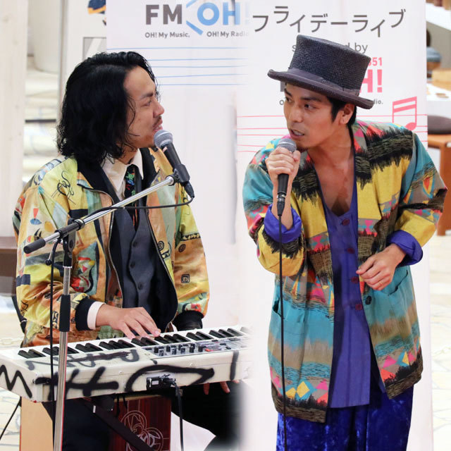 祝祭広場プレミアムフライデーライブ supported by FM OH! サーカスフォーカス