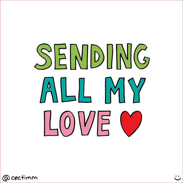 sending all my love via cectimm