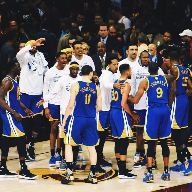 One more. #DubNation #NBAFinals