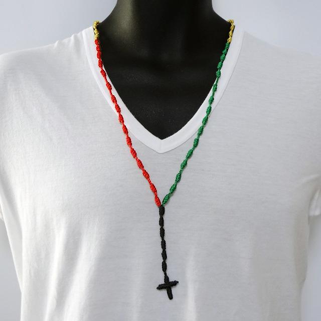 Mexican Rosary Necklace - Cafe de Zion online shop by Team Zion