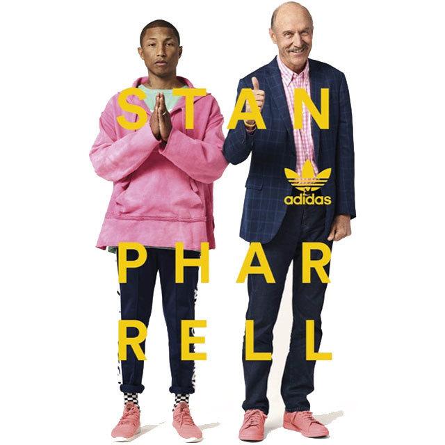 Pharrell Williams adidas Originals Tennis Hu Stan Smith