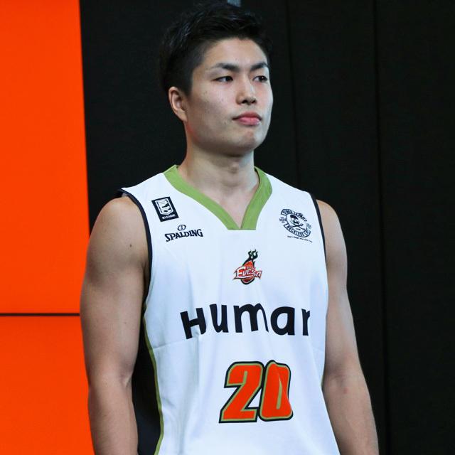 Bリーグ 大阪エヴェッサ 2017-18シーズン #20 合田怜 RAY レイレイ