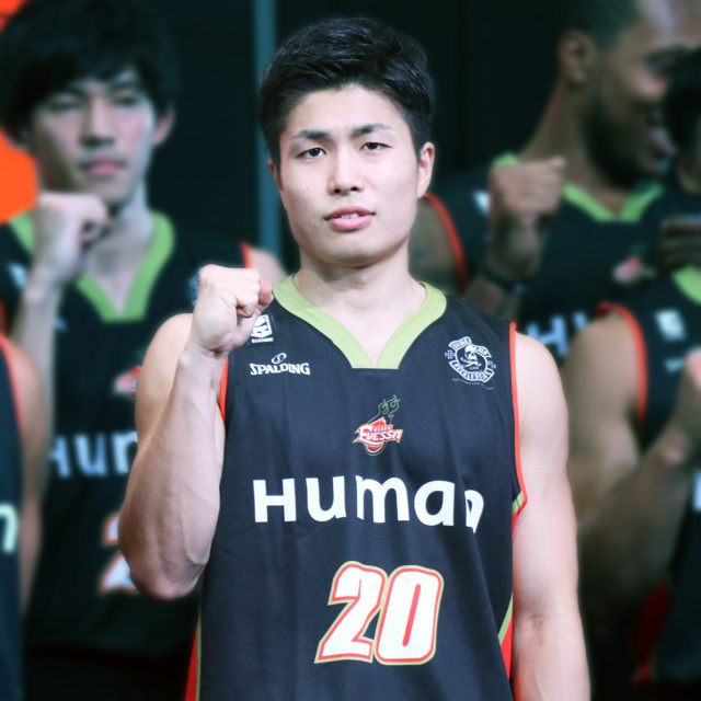 B.LEAGUE OSAKA EVESSA (ex. NISHINOMIYA STORKS) #20 REI RAY GODA photo by izy Rodriguez(Team Zion)