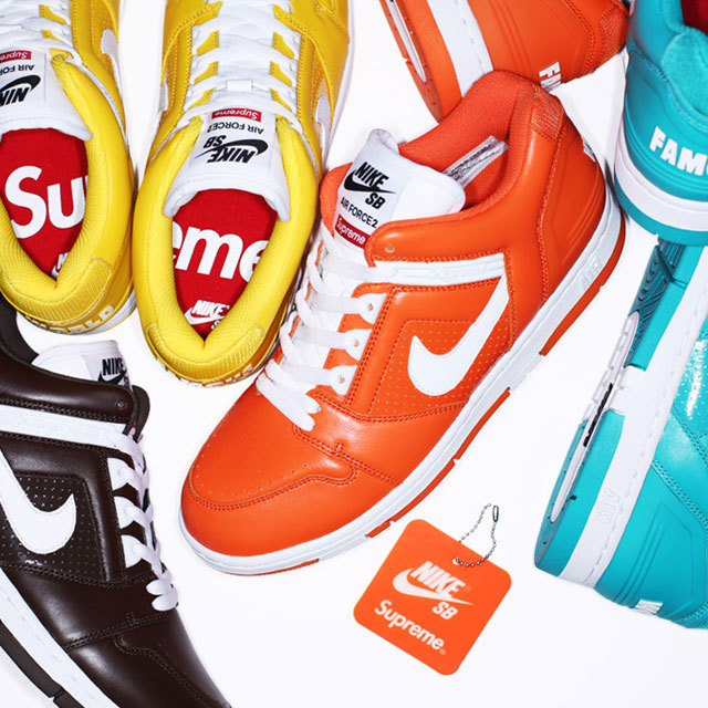 Supreme / Nike SB Air Force 2
