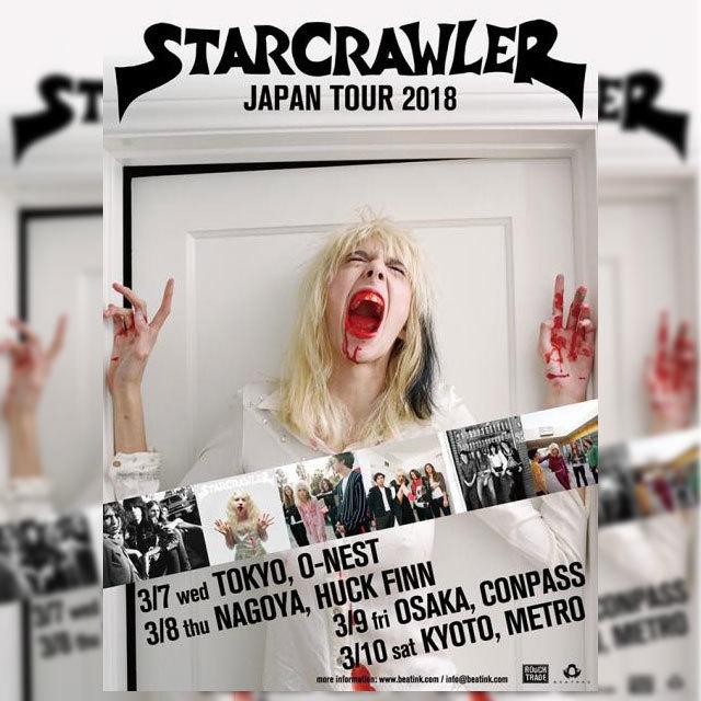 Starcrawler Japan Tour 2018
