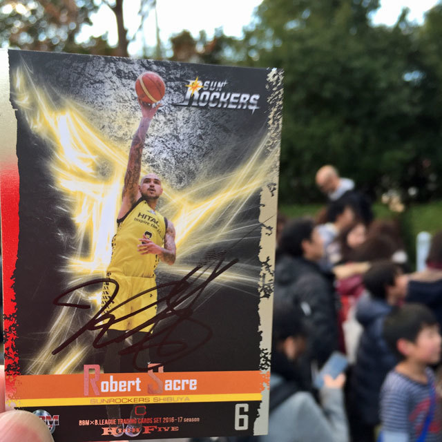 B.League Sunrockers Sibuya #6 Robert Sacre