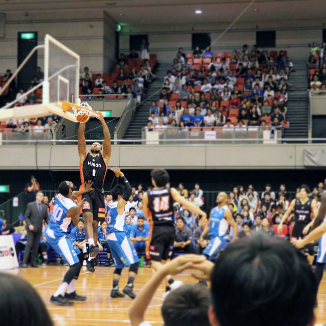 B.LEAGUE OSAKA EVESSA #9 GREG SMITH
