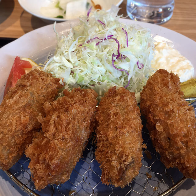【季節限定】 広島産 牡蠣フライ 定食