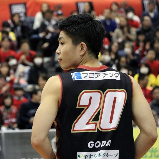 B.LEAGUE OSAKA EVESSA #20 REI RAY GODA photo by izy Rodriguez (Team Zion)