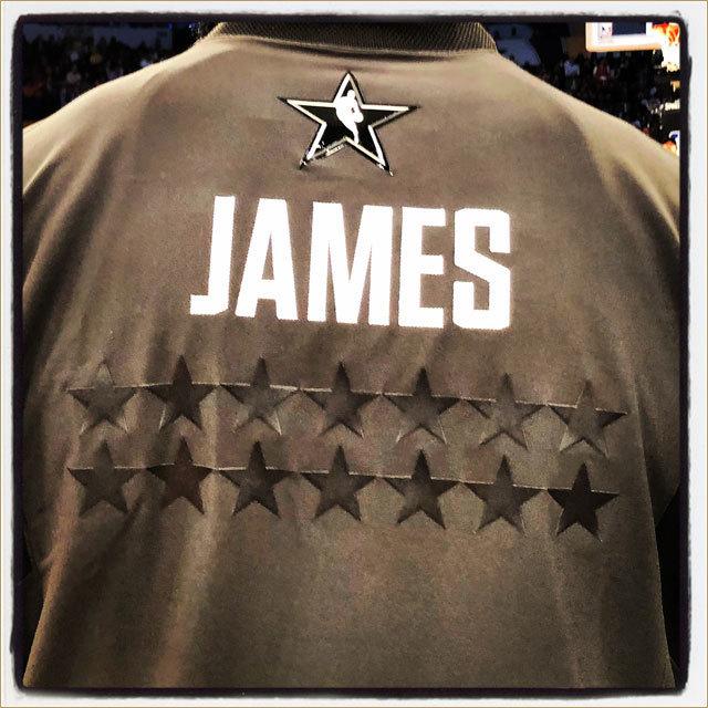 #NBAAllStar Appearance #14 for @kingjames!
