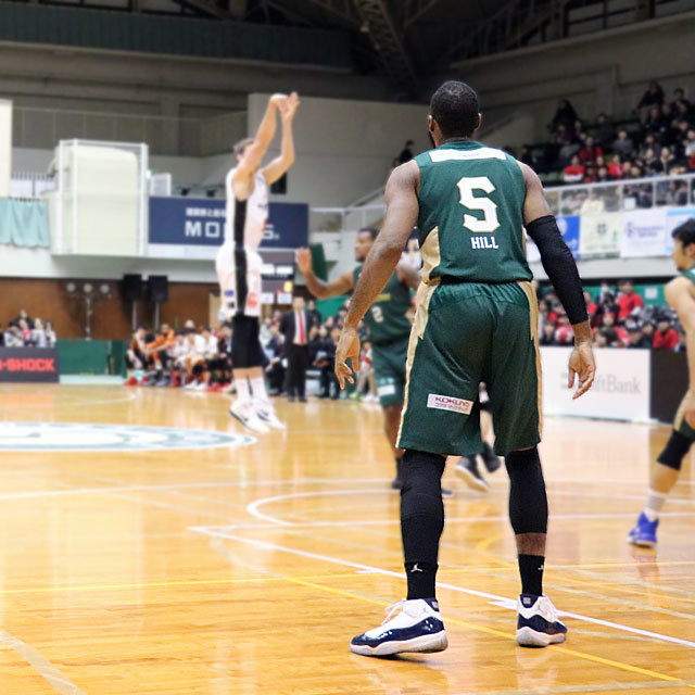 B.League Nishinomiya Storks #5 Herbert Hill