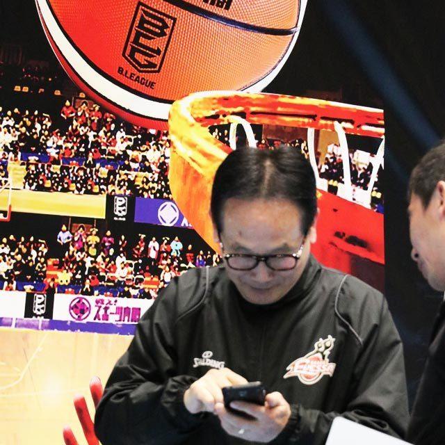 大阪エヴェッサ 清水良規 ゼネラルマネージャー/アドバイザリーコーチ photo by izy Rodriguez (Team Zion)