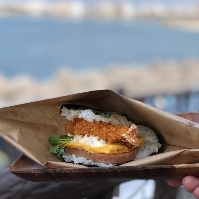 Onigiri Breakfast ポークたまごおにぎり本店 北谷店 photo by izy Rodriguez (Team Zion)