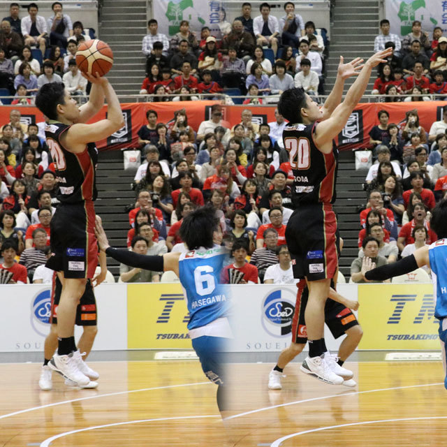 B.LEAGUE OSAKA EVESSA #20 REI RAY GODA photo by izy Rodriguez (Team Zion)